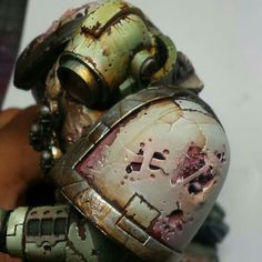 Nurgle paint splatter