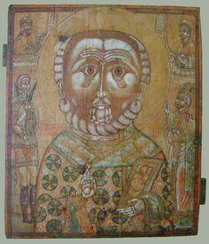 Николай чудотворец Jesus Art, Orthodox Icons, Naive Art, Byzantine, Folklore, Painting On Wood, Vintage World Maps, Saints, Objects