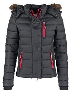 Superdry FUJI SLIM FIT Winterjacke black Bekleidung bei Zalando.de | Material Oberstoff: 100% Nylon | Bekleidung jetzt versandkostenfrei bei Zalando.de bestellen!