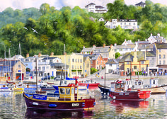 Lyme Regis Puzzle 2  #jigsaw #puzzle #christmas #xmas #gifts #children #grandparents #hobby #fun #family #gibsons #set