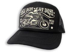 Hotrod HellCat Kappe/Cap Hell BLK Tattoo,Biker,Oldschool,Rockabily,Custom Styles