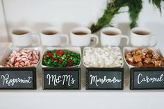 Fiesta Hot Chocolate Bar.@Gina Gab Solórzano Gab Solórzano Gab Solórzano Gab Solórzano Gab Solórzano Marie this would be so cute!