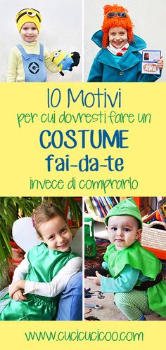 Why it's so much better to make your own costume: 10 life lessons that I learned from my mother and am passing on to my children through homemade costumes! Halloween Sewing, Fall Sewing, Diy Halloween Costumes, Diy Halloween Decorations, Sewing For Kids, Halloween Crafts, Costumes Kids, Halloween Stuff, Sewing Tutorials