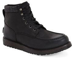 Roomy and well-made Uggs for men, Men's Ugg 'Merrick' Moc Toe Boot