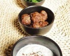 Boulettes light à la libanaise et sauce au yaourt allégé Low Calorie Recipes, Sauce, Appetizers, Diet, Ethnic Recipes, Kitchen, Homemade Food, Lebanon, Balls
