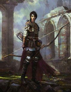 Iaruen, Royal Guardian Pilgrim