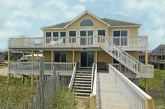 CAPTAIN'S CAPE GIRL - 4 bedrooms, 3 baths on the Buxton ocean front