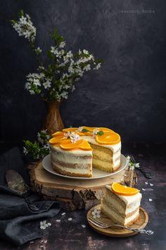 Narancskrémes torta - DESSZERT SZOBA Table Decorations, Dinner Table Decorations