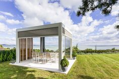 Welcome to a new collection of outdoor designs featuring 15 Startling Contemporary Patio Designs For Your Backyard. Gazebo On Deck, Hot Tub Gazebo, Pergola Swing, Pergola Plans, Diy Pergola, Pergola Kits, Pergola Designs, Patio Design, Exterior Design