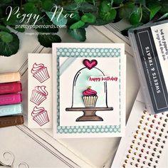 Birthday Treats, Birthday Cupcakes, Cupcake Card, December Holidays, Paper Ribbon, Handmade Birthday Cards, Paper Cards, Stampin Up Cards, Christmas Cards