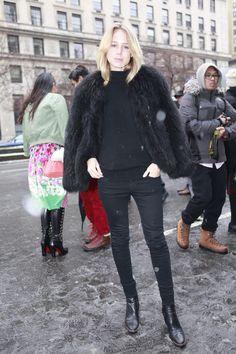 Los mejores looks de Street Style en la Semana de la Moda de Nueva York: Elie Kling