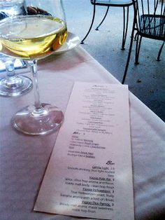 9/2014 - Park Cafe: Murphy Road, Nashville  Salmon, Crab Cakes, Wine - All yummy