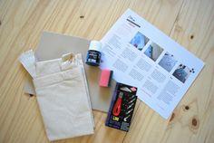 DIY-pakket van TODIY! JONA tote bag bestempelen met linoleum stempel Usb Flash Drive, Tote Bag, Bags, Handbags, Carry Bag, Dime Bags, Tote Bags, Lv Bags, Purses