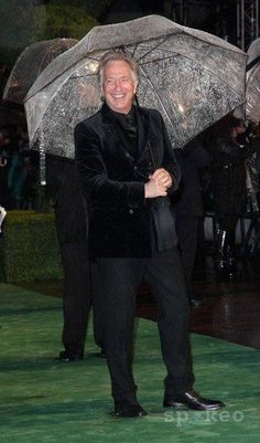 """February 25, 2010 -- Alan Rickman at the London, England premiere of """"Alice in Wonderland."""""""