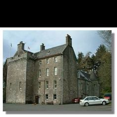 Culcreuch Castle- belonged the the Galbraith Clan of Fintry Scotland. Maurice Galbraith built in the 1200s. It is now a bed and breakfast. It is haunted.