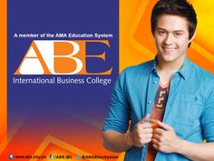 ABE INTERNATIONAL BUSINESS COLLEGE is endorse by a celebrity people. This guy is the new endorser of our school. He is good looking and handsome. https://www.facebook.com