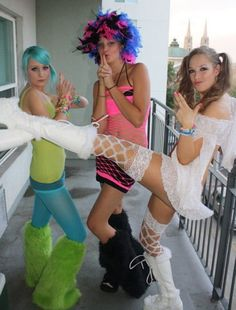 Raver look Styled by Bre Lembitz