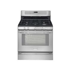Frigidaire�Professional 30-in 5-Burner Freestanding 5 cu ft Self-Cleaning Convection Gas Range (Stainless)