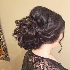 Wedding hairstyles, bridal hair, Updos , wedding hair Hair by Bridal Hair Couture By Katie www.bridalhairtoronto.com