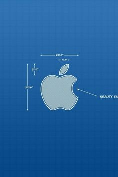 Apple Blueprint Wallpaper
