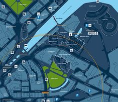 Bristol legible city map detail