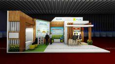 Desain booth PT PLN (persero) at Indonesia CSR Exhibition, 18 - 20 agustus 2017 dibalai kartini