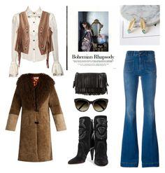 """Bohemian Winter"" by imakhotimatus ❤ liked on Polyvore featuring STELLA McCARTNEY, Saks Potts, Isabel Marant, Yves Saint Laurent, Chloé, boho, fashionset and winterstyle"