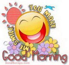 Good Morning   Love & Smiles ☆¨¯`♥ ¸.☆¨¯`♥ ¸.☆¨¯`♥