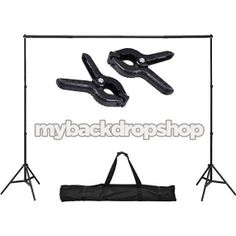 Photography Backdrop Stand WITH CLAMPS - Adjustable 10ft x6ft Backdrop Support System - Photography Studio Equipment - Item 097 on Etsy, $44.99