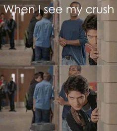 Imagen de teen wolf, crush, and funny
