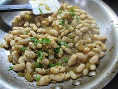 21 Day Fix Recipes: Sauteed White Beans