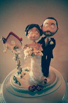 #quisquilie #caketopper #wedding