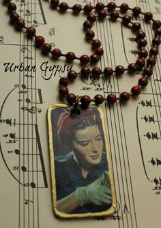 World War 2 Barbie Working The Shift Riveting The Planes Urban Gypsy Pinup Pendant Necklace by UrbanGypsyIndy on Etsy