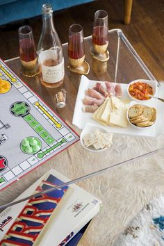 How to host a chic game night with canapés via Thou Swell for Cost Plus World Market www.worldmarket.com