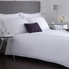 Designer white 'Headley' bed linen - Bedding - Debenhams.com