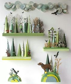 .Instead of a seasonal table, I could put up small seasonal shelves with a changing display.