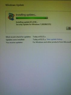 New updates for windows 7 and XP