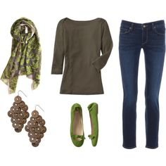 love the grey and green, haven't tried skinny jeans yet though...
