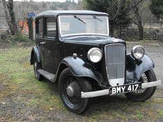 Austin 10HP Lichfield Saloon 1934.