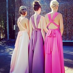 Stunning backs in our multi-award winning Goddess By Nature signature multiway ballgowns in gorgeous tonal shades ❤ www.goddessbynature.com  Stockists & shipping worldwide   #goddessbynature #goddessbynaturebridalparty #wedding #weddingday #weddinggown #weddingdress #weddingideas #weddinginspo #weddinginspiration #bride #bridal #bridetobe #bridesmaid #bridesmaidsdresses #bridesmaiddress #bridesmaiddresses #bridesmaidsdress #bridalinspo