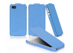 Cellsafe leather flip case for iPhone 5 & 5S - NOT for 5C   NEW LOW PRICE