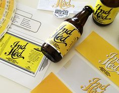 IndHed™ Brewing Co / Branding & Packaging