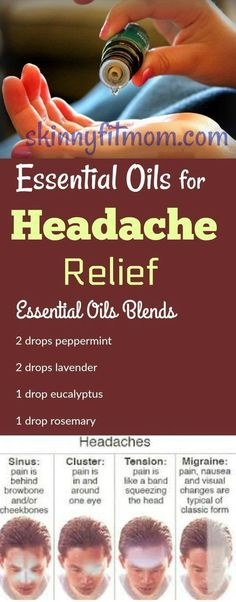 Essential Oils for Headache Relief - If you are suffering frequently from several types of headaches — migraines, sinus, and tension. Try this essential oil blend in your diffuser for quick relief from headache. Add this essential oil blend to your diffus Essential Oils For Headaches, Essential Oil Uses, Doterra Essential Oils, Young Living Essential Oils, Essential Oil Diffuser, Diffuser Diy, Diffuser Blends, Fibromyalgia Essential Oils, Migraine Essential Oil Blend