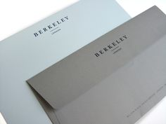 Berkeley by Construct #envelope