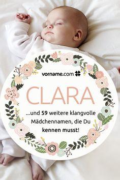 Dir gefallen klangvolle Namen wie Clara? Bei uns findest Du eine Liste der schönsten Mädchennamen, die mit einem -a enden!