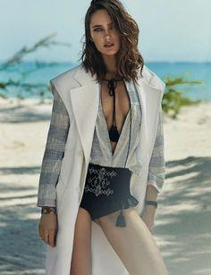 ELLE Spain June 2017 Karmen Pedaru by Xavi Gordo - Fashion Editorials