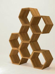 Hexagonal Book Standards By Divadio Funrnishings Tree Bookshelf Bookshelves Shelf Design Home Decor
