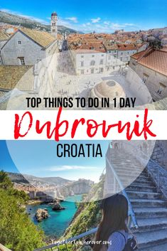 The Perfect Way To Spend A Day In Dubrovnik- Together To Wherever Croatia Travel Guide, Europe Travel Guide, Croatia Itinerary, Travel Guides, Cool Places To Visit, Places To Travel, Travel Destinations, European Destination, European Travel
