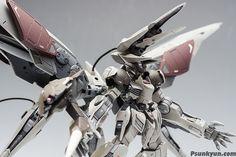 "MODELER: Psunkyun MODEL TITLE: Gundam Barbatos Lupus Rex ""Hashmal"" MODIFICATION TYPE: kit bash, custom details, custom color scheme, cus..."