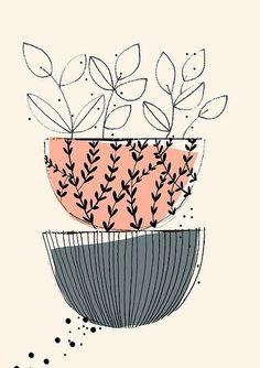 Surface Pattern Illustration patterns textile design Art And Illustration, Floral Illustrations, Pattern Illustration, Landscape Illustration, Watercolor Clipart, Art Watercolor, Mandala Art, Flowers Wallpaper, Poster Photo